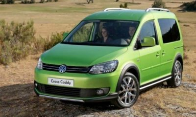 Volkswagen Cross Caddy front