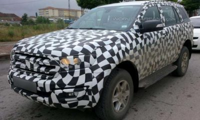 Ford Everest SUV front
