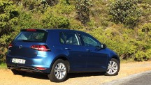 The long-term VW Golf 1,4 TSI Comfortline DSG on Bain's Kloof Pass