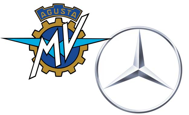 Mercedes-AMG MV Agusta badges