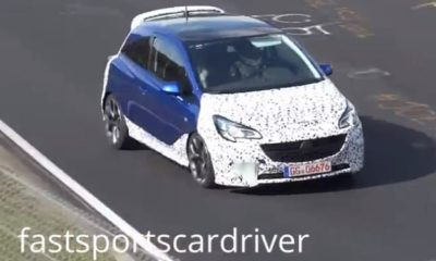 A revised front airdam and bonnet scoop are design hallmarks on the new Corsa OPC.