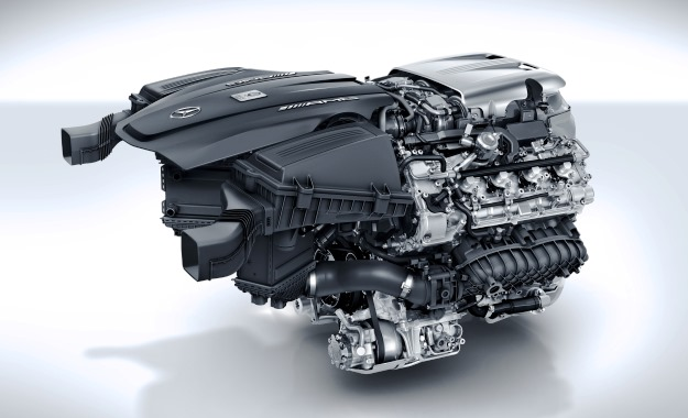 The all-new, twin-turbo V8.