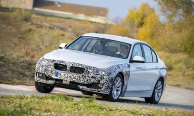 BMW 3-Series plug-in hybrid front
