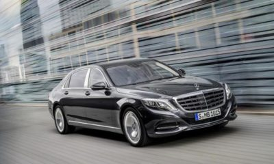 Mercedes-Maybach S600 front