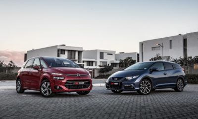 The Other Guys: Citroën C4 Picasso E-DHI 115 Intensive & Honda Civic Tourer 1,8 Executive AT