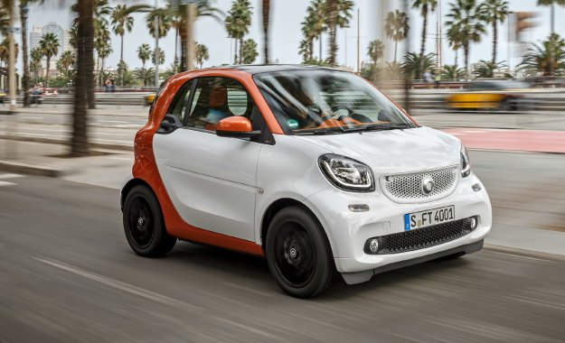 Smart ForTwo front