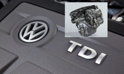 VW TDI engine with electrically driven turbo