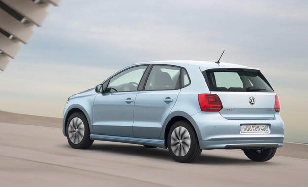 Volkswagen Polo BlueMotion rear