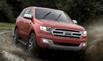 The new Ford Everest revealed