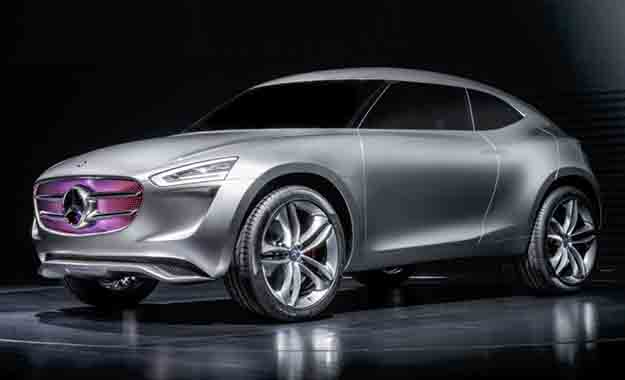 Mercedes' Vision Code-G could preview a new addition to the firm's SUV family