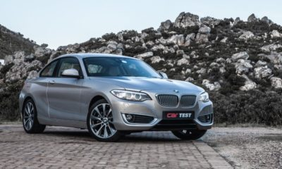 BMW 220d Steptronic front