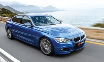 BMW 330d Sports Steptronic front