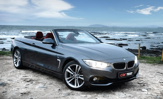 BMW 435i Convertible Steptronic front