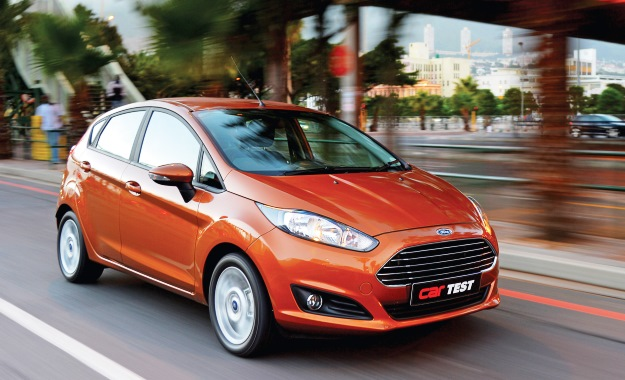 Ford Fiesta 1,0 EcoBoost Trend Powershift front