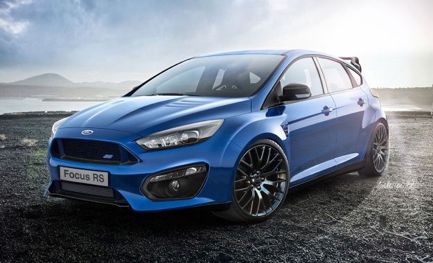 Ford Focus RS render