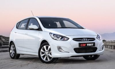 Hyundai Accent Hatch 1,6 Fluid front