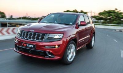 Jeep Grand Cherokee SRT8 front