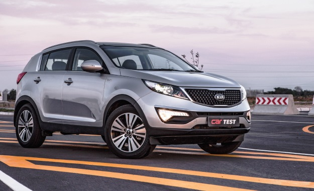 Kia Sportage 2,0 CRDi AWD AT front