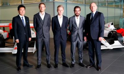 McLaren F1 announces 2015 driver line-up