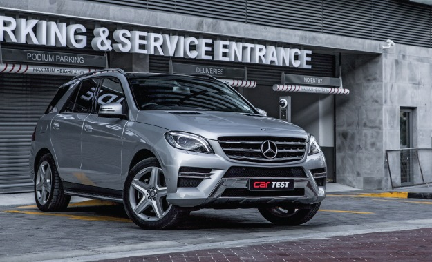 Mercedes-Benz ML400 BlueEfficiency 4MATIC front