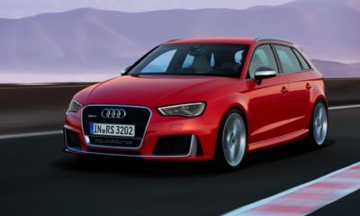 Audi RS3 official info