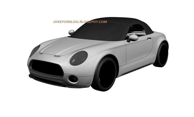 Patents have leaked online showing what looks like a production-ready Mini Superleggera