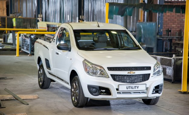 Chevrolet Utility front