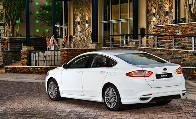 Driven Ford Fusion 2 0 Ecoboost Anium Sync Infotainment System Full Leather Is Standard Impressive Ride Seen Here With Optional 18 Inch Alloys