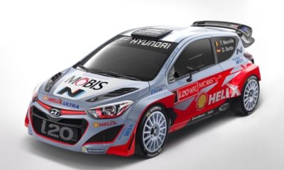 Hyundai will start its 2015 campaign with the same car it finished last year