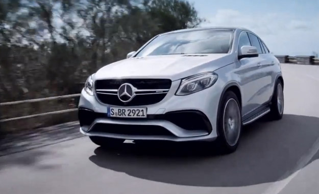 Mercedes-Benz GLE63 AMG front