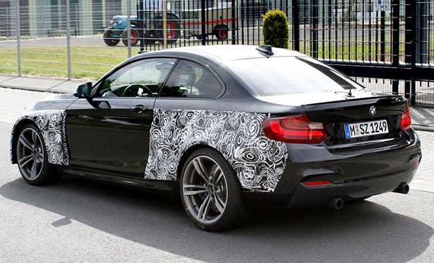M2 prototype spotted last year