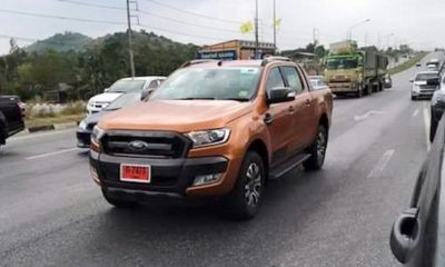 Facelifted Ford Ranger Wildtrak