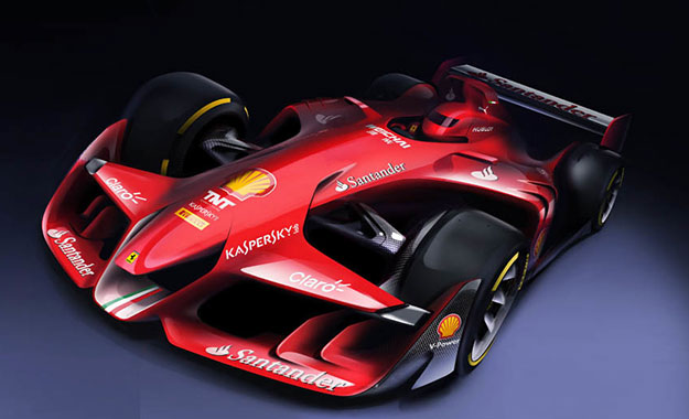 Double front wing