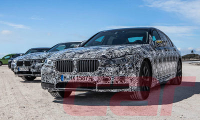 We spy mystery BMW 7s in Cape Town