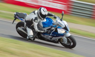 BMW S 1000 RR flying - I do not claim to be the rider!