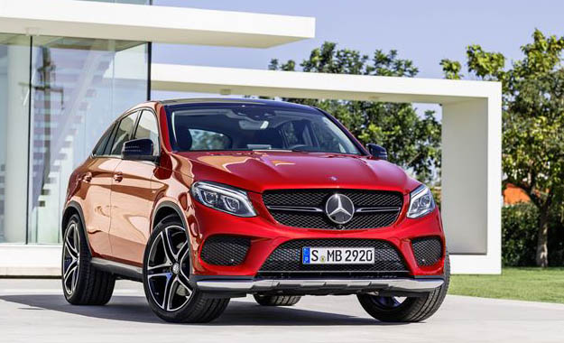 Mercedes-Benz GLE Coupe front
