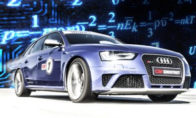 Predicting the 400 m acceleration time of an Audi RS4 Avant.