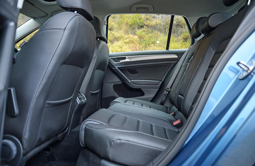 The VW has more leg- and headroom, but the Mazda's seat is very comfy.