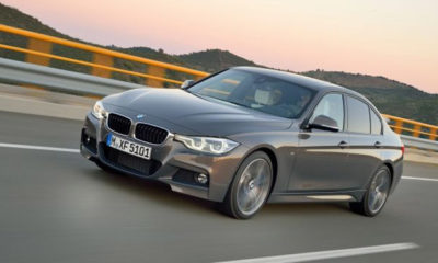 2015 BMW 3 Series front