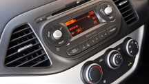 The Picanto now features an upgraded audio system