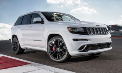 The Jeep SRT8 is already a handful, but not a handful enough. 2017 might see a 530 kW Hellcat version