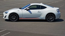 18-inch wheels specifically designed for the Toyota GT86 Blanco