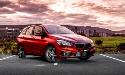 BMW 220d Active Tourer auto front three quarter