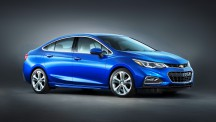Chevrolet is hoping the new Cruze will continue with the sale's success of the previous model