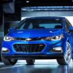 The 2016 Chevrolet Cruz is more athletic in design than the outgoing model