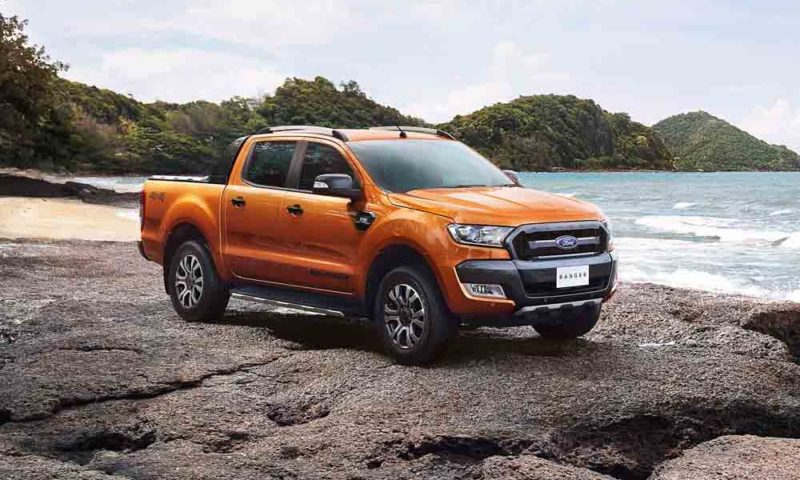 Ford Ranger Wildtrak side