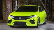 Hopefully the new Honda Civic will not stray too far from the concept design