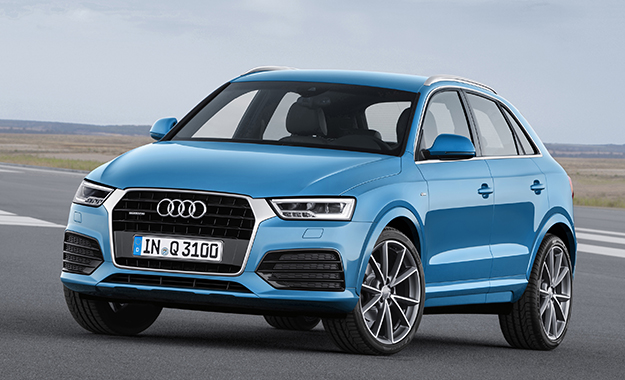 The Audi Q3 gets a refresh for 2015