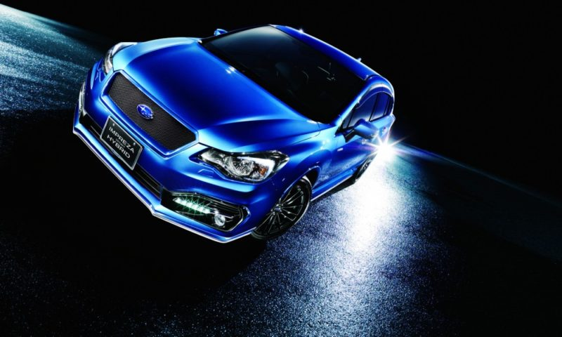 Hopefully the Subaru Impreza Sport Hybrid is as dramatic as these pictures suggests