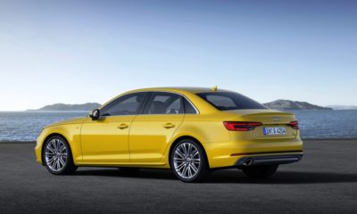 The new Audi A4 will be unveiled at the 2015 Frankfurt Auto Show